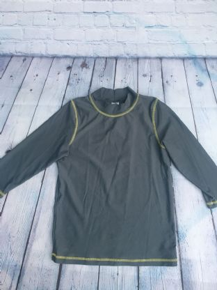 Mini Boden grey rash vest age 9-10